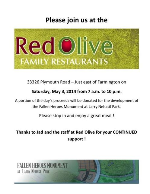 Red Olive Fundraiser