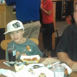 Nice Family at the Buffalo Wild Wings Fundraiser